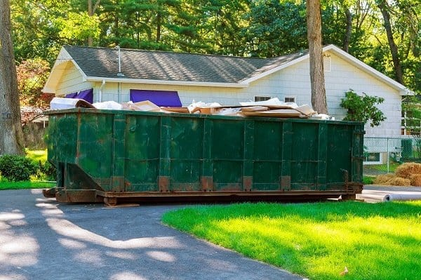 How much does a dumpster cost for a day
